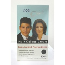 HAIR COLOUR CREAM (NATURAL BLACK)