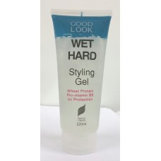 Wet Hard Styling Gel 220ml