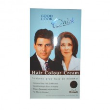 HAIR COLOUR CREAM (DARK BROWN)